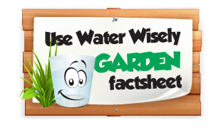 Education Use Water Wisely - Garden