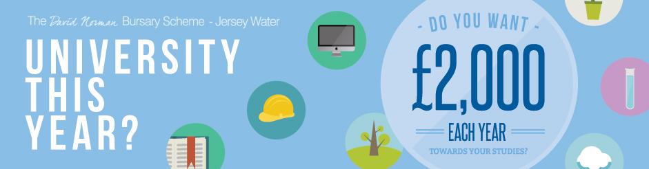 Jersey Water Bursary Scheme 2014