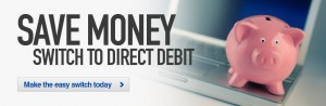 Save Money with Direct Debit