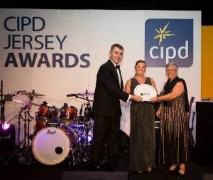 Jersey Water CIPD Award winners 2014
