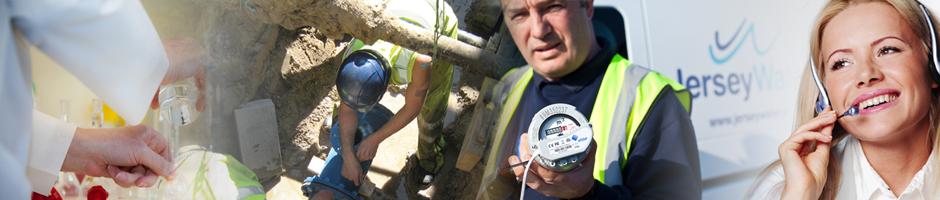 Jersey Water Careers Header