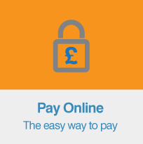 Pay Online homepage graphic