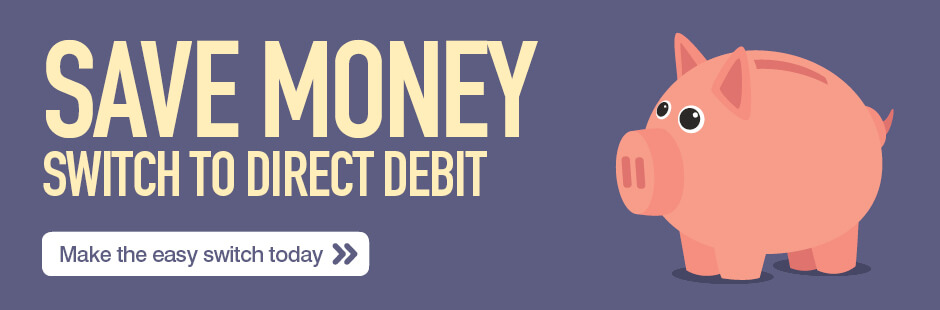 Direct Debit Web Banner