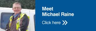 Michael Raine Button